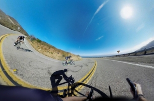 Team One's New Lexus Film Takes You on a Breathtaking VR Bike Ride
