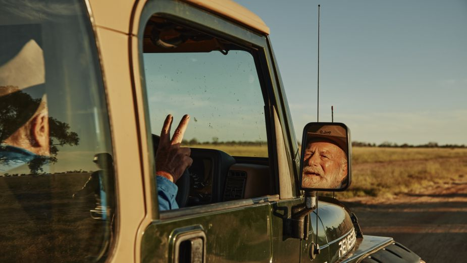 A Wave Can Mean Many Things in Jeep Campaign Featuring Australian Screen Legend Jack Thompson