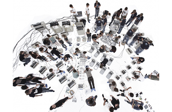 The Printer Orchestra by Grey London