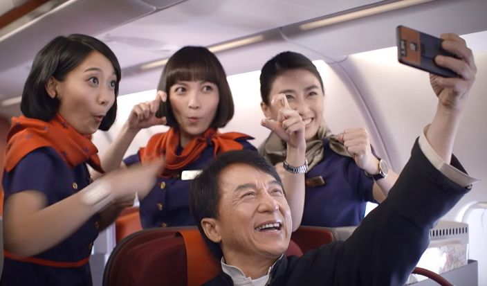 Experience a Day in the Life of Jackie Chan in New HK Airlines Campaign