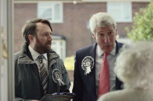 David Mitchell & More Go Door-to-door for Channel 4's Alternate Election Coverage
