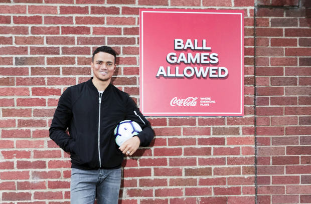 Coke Teams up with Jermaine Jenas to Unlock Football Spaces and Coaches This Summer