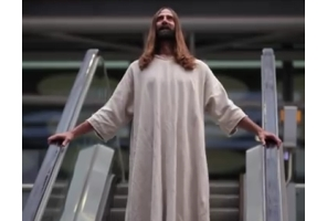 Mother London Signs Cult Christmas Figure Jesus as Client