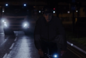 Stay Out of the Dark in This Interactive Visibility Clothing Spot