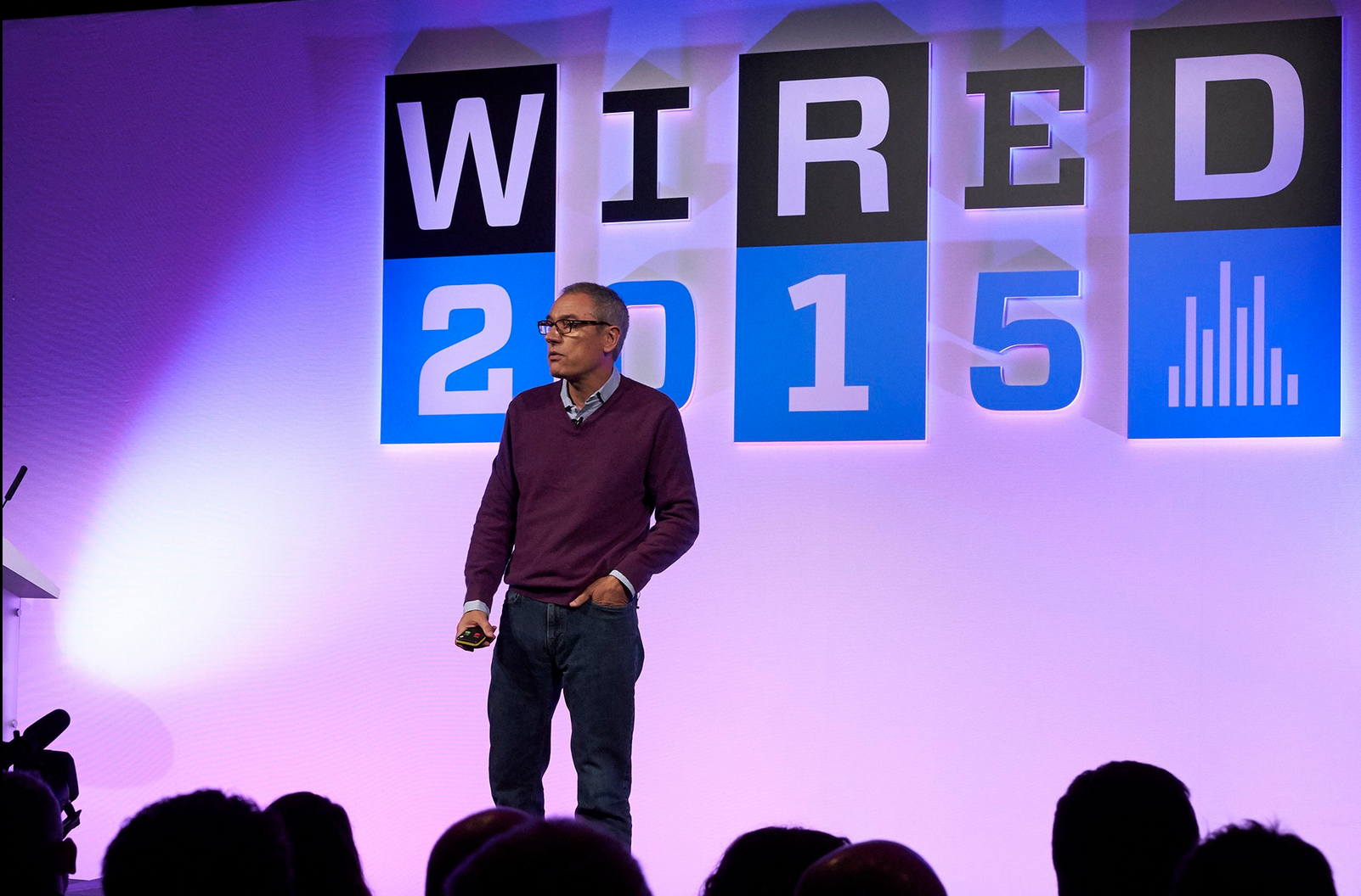 Jose Miguel Sokoloff Takes the Main Stage at WIRED2015