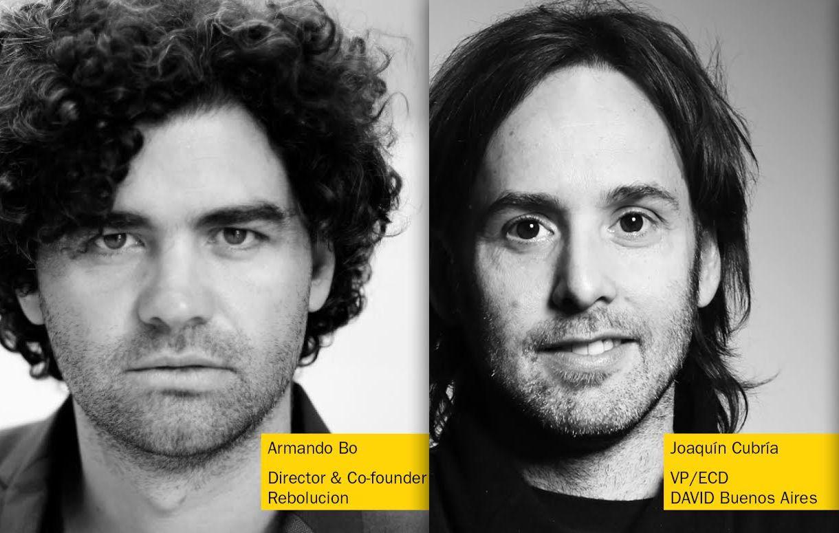 Armando Bo and Joaquín Cubría Added to D&AD Festival 2017 Lineup