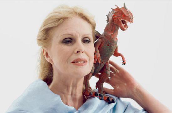 Joanna Lumley Has a Box Set Binge with Sky