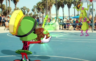 Marvin The Martian & Blake Griffin Duke It Out for W+K NY's New Jordan Brand Ad