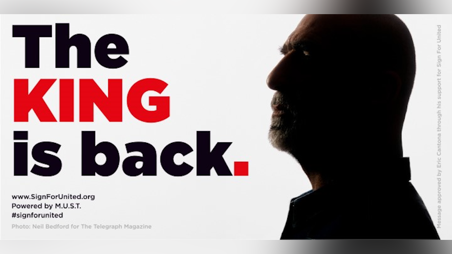 Eric Cantona is Back for Manchester United Supporters Trust's 'Sign For United' Campaign