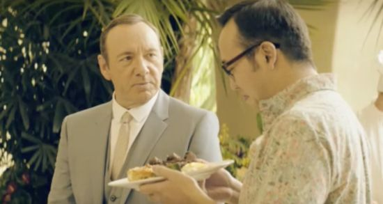 Kevin Spacey Scouts For Talent In E*TRADE Spot