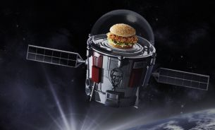 KFC Partners with Space Flight Experts to Launch a Zinger Burger into Space