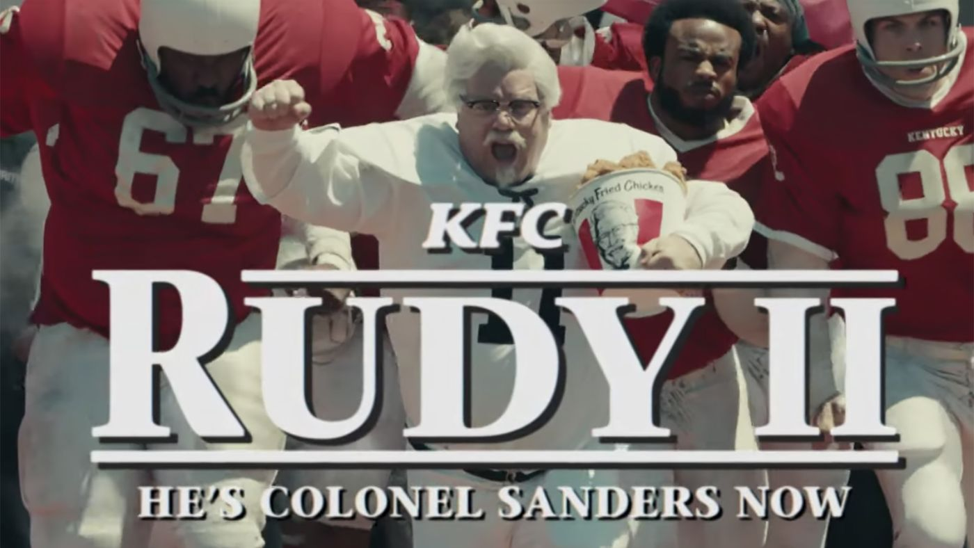 Finger Lickin' Nostalgia, Arts & Science Produces 'Rudy II' film for KFC starring Sean Astin
