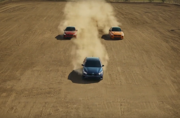 Kia Puts GT Performance Vehicles to the Test on a Texan Ranch