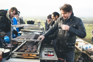 Land Rover Partners with Chef James Martin for the Great British Winter BBQ