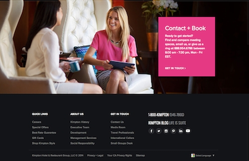 FINE Relaunches Kimpton Hotels' Website with New Web-Experience