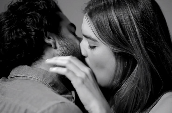 Snog Puckers Up with Parody of Strangers Kissing Viral
