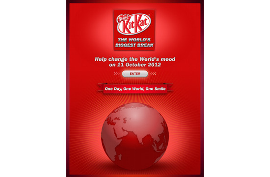 The World's Biggest Break by Kit Kat