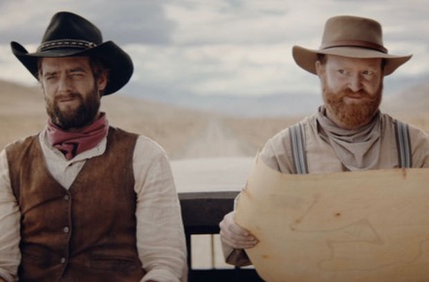 KitKat Reminds People to Snap out of It with Wild West Ads