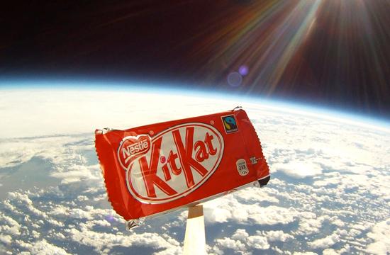 Kit Kat 'Break from Gravity'