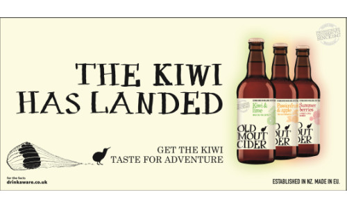 St. Luke's Brings The Kiwi Taste To The UK For Old Mout Cider