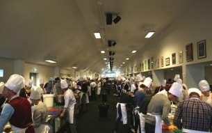 MEC Takes Over North London Stadium to Cook for the Capital's Vulnerable