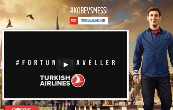 Turkish Airlines Partners with YouTube's Biggest Stars for Global Campaign