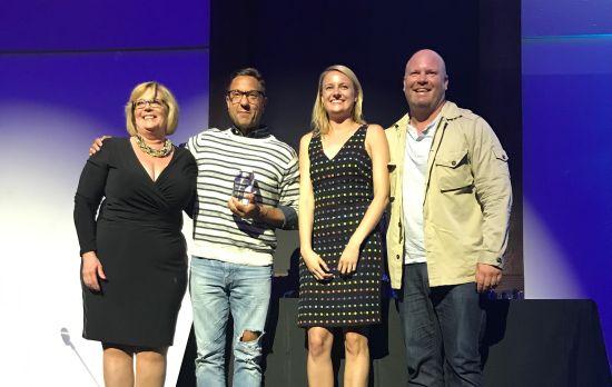 San Francisco Agency Camp + King Wins Gold Small Agency of the Year Award