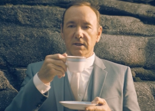 Kevin Spacey Goes to New Heights in Search of Talent for E*Trade