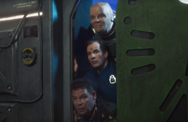The Red Dwarf Crew Breaks Down in adam&eveDDB's AA Spot