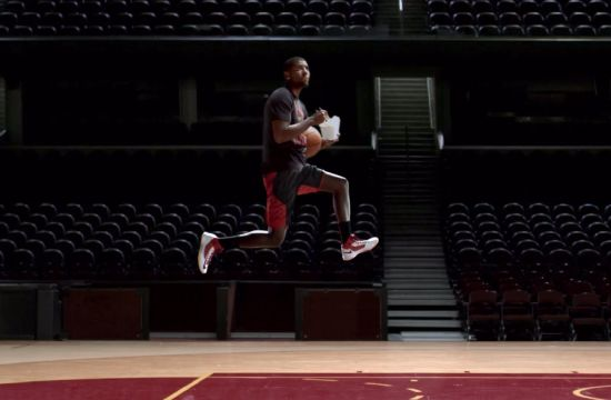 Kyrie Irving Slows Time for Foot Locker