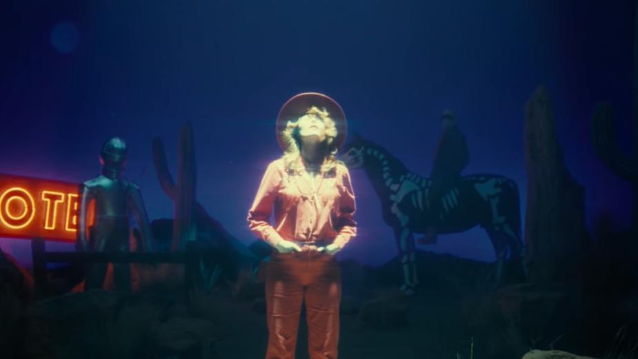Jordan Bahat Directs High-Camp Space Western for Singer Allison Ponthier's 'Cowboy'