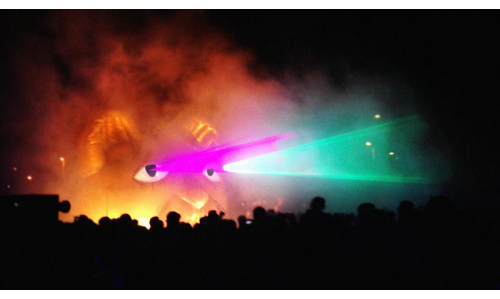 ADC's Laser Cat is Shooting Cities... With Creativity!