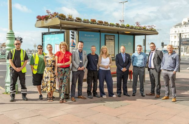 Brighton's Sea-Front Blooms with Clear Channel Beach Cleaning Efforts