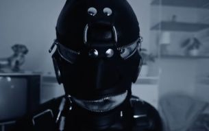 The Leather-clad Audiolord Fights Against Noisy Neighbours in Bizarre New Spot