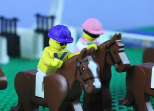 Racing Legends Immortalised in Lego for QIPCO British Champions Day