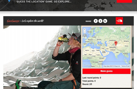 Geoguessr Returns with The North Face