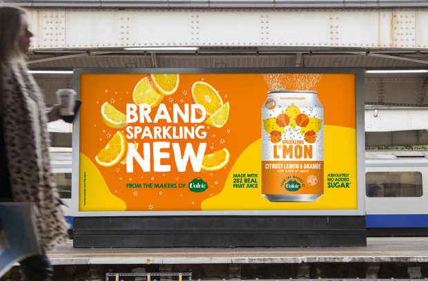 Impero Launches Disruptive OOH for Danone's Zesty L'mon Drink