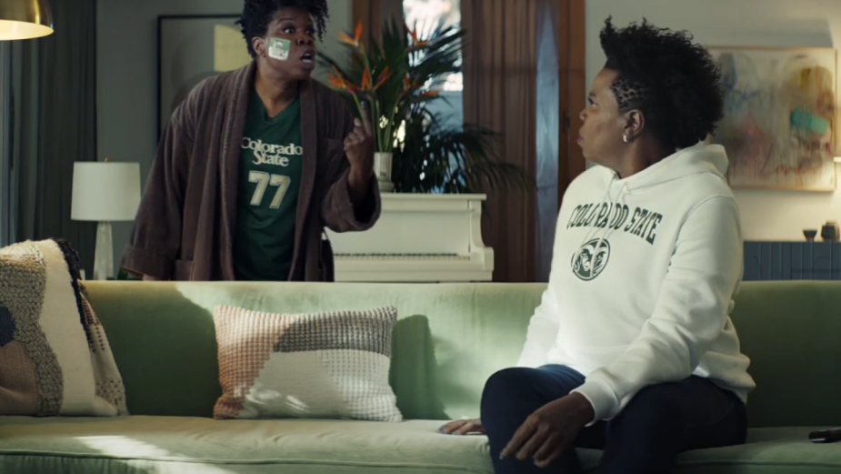 Leslie Jones Doubles Up for March Madness in Uber Eats Campaign