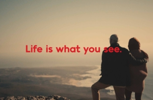 Japanese Eyewear Brand Goes Global with 'Life Is What You See' Campaign