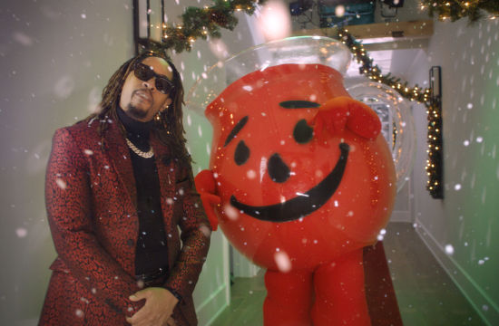 We Can't Get This Christmas Song by Lil Jon and Kool-Aid Man Out Our Heads