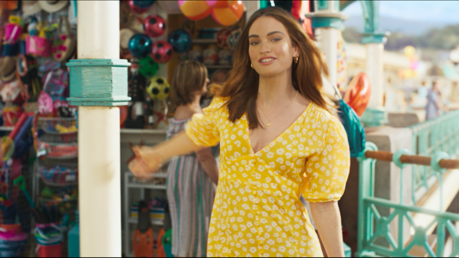 Lily James Shows How Easy It Is to Switch to Sky Mobile in Latest 'Hello Possible' Ad