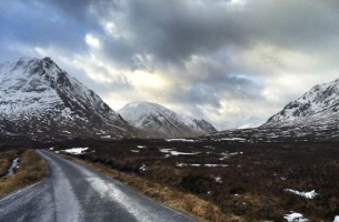 Location Scotland Ensures 'Snow' Chance a Blizzard Will Stop Bank of Scotland Shoot