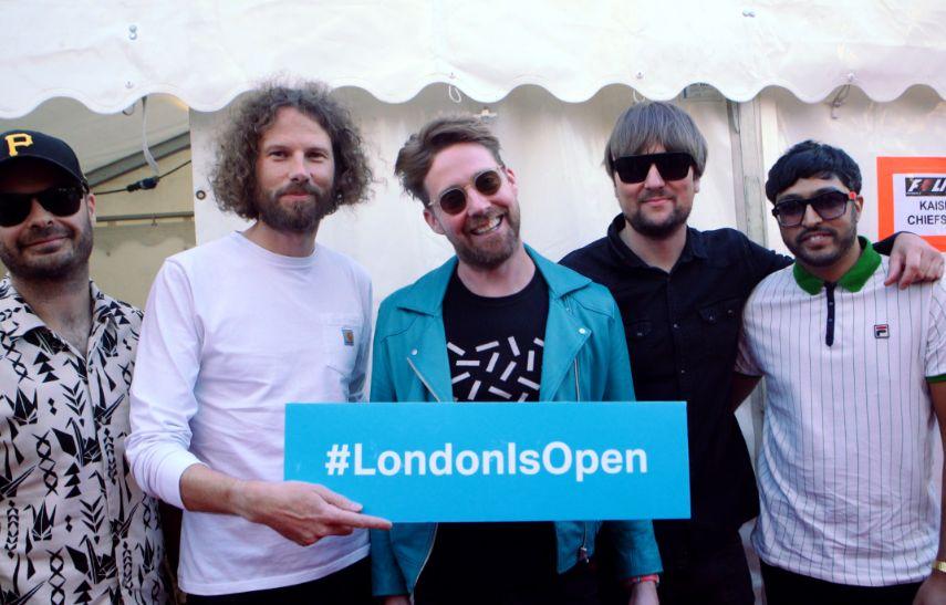 Sadiq Khan, The Kaiser Chiefs, Jimmy Fallon and More Open London for Summer