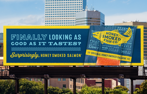Honey Smoked Salmon Finally Looks as Good as it Tastes in First Ad Campaign