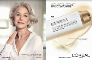 Dame Helen Mirren Unveils New Face, Neck & Décolleté Innovation from L'Oréal Age Perfect