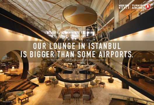 Turkish Airlines & CP+B London 'Widen Your World' with New Print Campaign