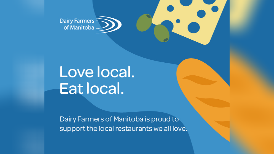 Dairy Farmers of Manitoba Supports Local Businesses Affected by Covid-19 with Free Advertising