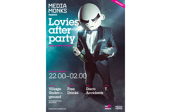 MediaMonks' Official Lovie Awards After-party