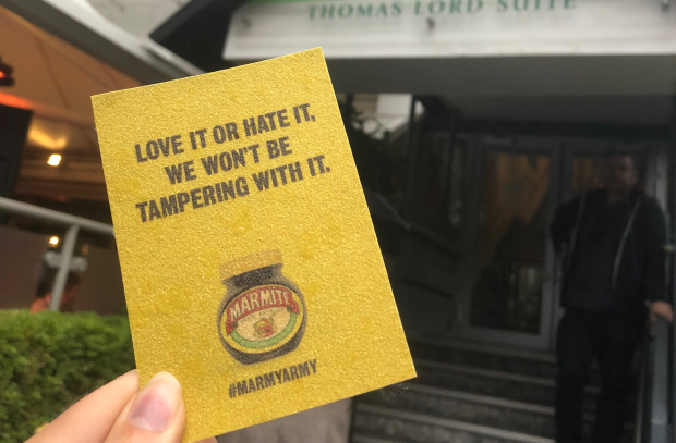 Marmite Hands out Branded Sandpaper at Lord's in Light-Hearted 'Sandpapergate' Jab