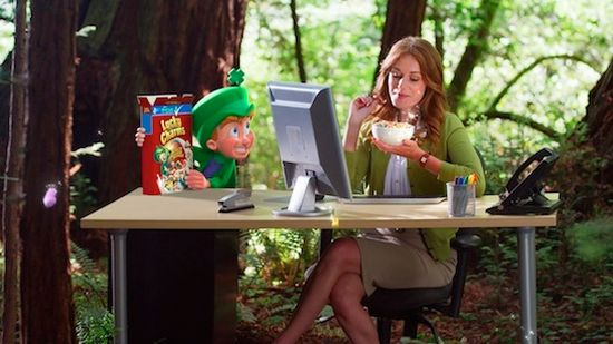Calabash Animation Heads To The Office To Target Older Cereal Lovers